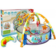 Otroška mehka igralnica z lokom živalice-7205