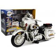 Policijski motor na baterije z svetlobnimi efekti -7227