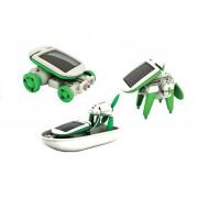 Kreativni - poučni komplet solarnih robotov 6 v 1 -766