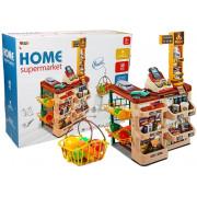 Supermarket Set + Nakupovalni voziček + Skener + bralnika kartic -8317