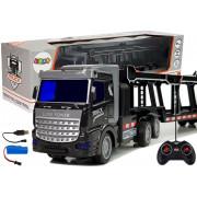 Veliki daljinsko vodeni vlečni kamion 36 cm + Svetlobni efekti-9078