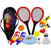 Set veščin Športne igre Žogice Badminton Basket  -9185