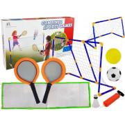 Odbojkarski set + badminton 3 v 1 Set dveh različic gola - 9187