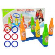 Igra iziv vržni prstan na pisane stekleničke -9291
