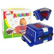 Harmonika za malega glasbenika  - MODRA -9423