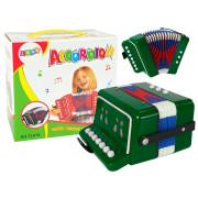 Harmonika za malega glasbenika  - ZELENA -9424