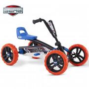 Gokart na pedala Buzzy Nitro - mehka  kolesa - 2-5 let do 30 kg - 24.30.01.00 - Berg