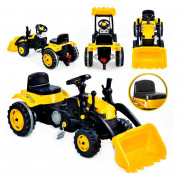 Traktor Na pedala z prednjim nakladačem Farmer MaxTrac - 28415 - Woopie