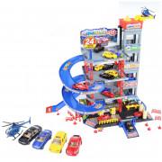 Večnadstropna parkirna garaža Avtopralnica Helikopter + dodatki -  30456 - Woopie