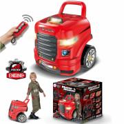 Zložljiv komplet Big Truck Assembly + dodatki 61 kosov.  - 31262 - Woopie