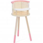 Leseni sedež za hranjenje za punčke - CW50548 - Classic World