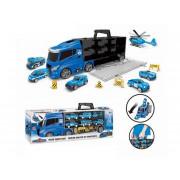 Policijski vlečni tovornjak z avtomobili - 108438