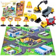 Podloga za gradbena vozila + vozila - 108484