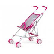 Voziček Milly Mally za punčke Julia Prestige Pink - 5901761124941