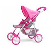 Otroški voziček Milly Mally za punčke Natalie Prestige Pink - 5901761124965