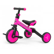 Tricikel Milly Mally 3w1 Optimus Pink - 5901761125085