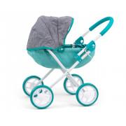 Otroški voziček Milly Mally za punčke Dori Prestige Mint - 5901761125580