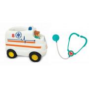 Kiddieland 053009 Srečno reševalno vozilo z dodatki (1069, Kiddieland) - 661148530097