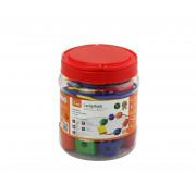 Večbarvni komplet lesenih kroglic VIGA, ki je v priročni embalaži  58466 . - 6934510584665