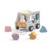 Viga 44041 PolarB 2v1 igračka za vleko in razvrščanje - 6971608440410