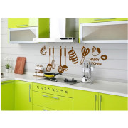 Stenske Nalepke za Otroke - Happy Kitchen - 45x60 cm - AY6017
