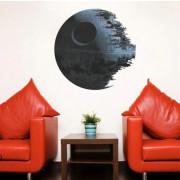 Stenske Nalepke za Otroke - Star Wars - DEATH STAR - 45x45 cm - 1441