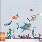 Stenske Nalepke za Otroke - Nemo - XY8078 - 50x70cm