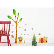 Stenske Nalepke za Otroke - Medvedek Pu - DM57-0115 - AY7044 - 50x70cm