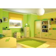 Otroška Soba Baggi z Dvo Delno Omaro - Turtle