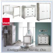 Otroška Soba Schardt - Nordic Chic z Tro Delno Omaro