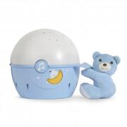 062355 Projektor za Otroško posteljico - moder - 8058664062355
