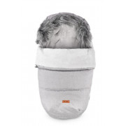 Zimska spalna vreča za voziček -  INDIANA GREY 100 X 50 - 5903076305411