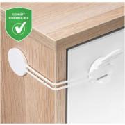 Multi Varovalo za Varovanje Omaric,Predalnikov,Hladilnika - 1x kos - Reer - 72030