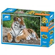 SESTAVLJANKA 3D - TIGER 500 KOS 61x46cm ANIMAL PLANET - 422270