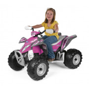 Baterijski Quad Desert Polaris Outlaw - Peg Perego - Pink Power 12V