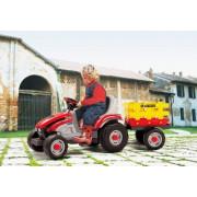 Traktor na Pedala s Prikolico Mini Tony Tiger - Peg Perego