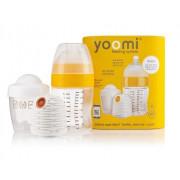 Yoomi Set 240ml Steklenička + Grelec + Lonček za Grelec