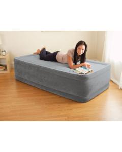 """Napihljiva postelja Comfort-Plush MID """"Twin"""" z vgrajeno črpalko - 164412"""