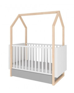 Otroška Posteljica - Bellamy - 140x70 cm - Raztegljiva do 160 cm - Pinette