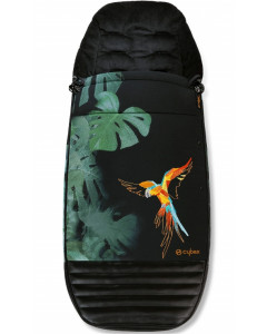 Zimska Vreča - Cybex za Voziček Priam 2.0 - Mios - Fashion Design - Birds of Paradise