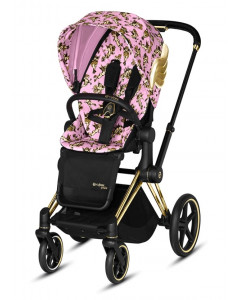 Športni Del Vozička - Tekstil - Cybex Priam 2.0 - Fashion Cherubs - Pink