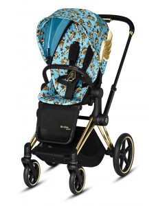 Športni Del Vozička - Tekstil - Cybex Priam 2.0 - Fashion Cherubs - Blue