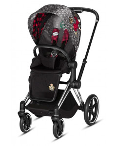 Športni Del Vozička - Tekstil - Cybex Priam 2.0 - Fashion - Rebellious