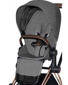 Športni Del Vozička - Tekstil - Cybex Priam 2.0 - PLUS - Manhattan Grey - 2020