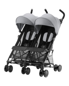 Voziček za Dvojčke - Römer - Buggy Holiday - Double - Steel Grey 2020