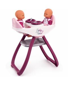 Stolček za Hranjenje in Gugalnik za igranje Baby Nurse - 220344 - Smoby