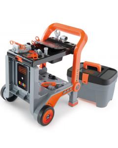 Voziček za orodje Black & Decker  3w1 - 360202 - Smoby