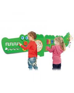 Lesena Igrača - Poučni Krokodil - 50346 - Viga Toys