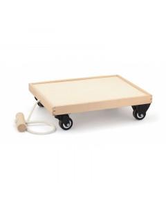 Lesena Igrača - Voziček za Vleko Igrač - 50368 - Viga Toys