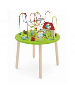 Lesena Igrača -  Miza Labirint - 50670 - Viga Toys
